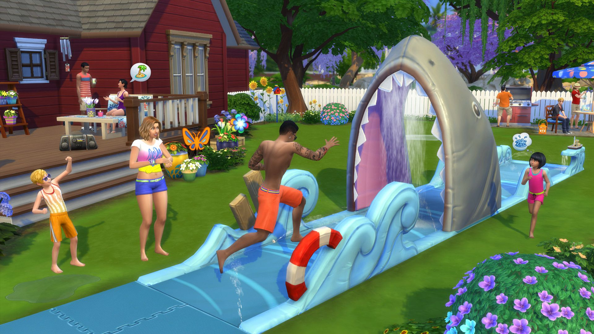 "The Simsâ""¢ 4 Backyard Stuff"