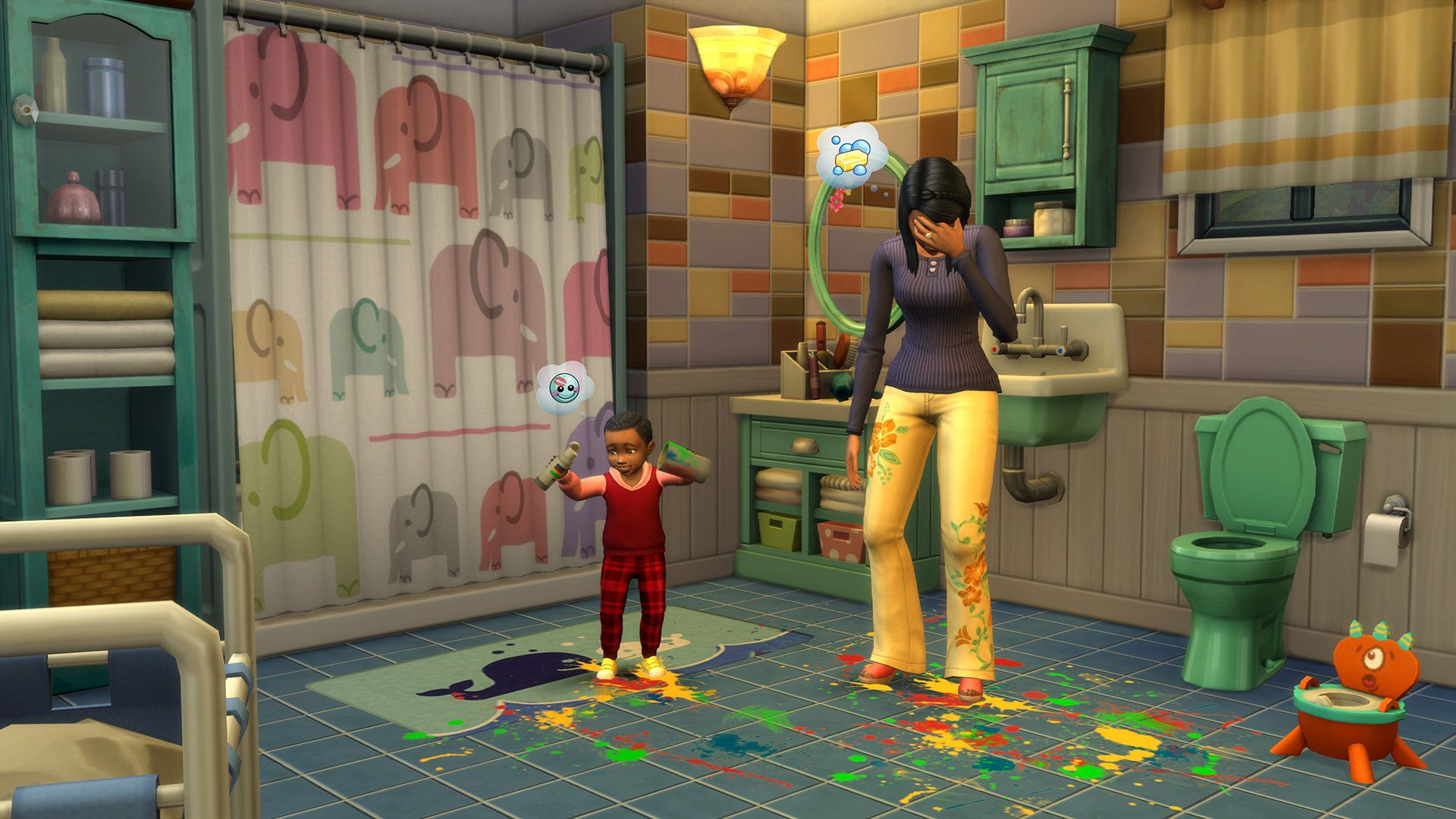 "The Simsâ""¢ 4 Parenthood"