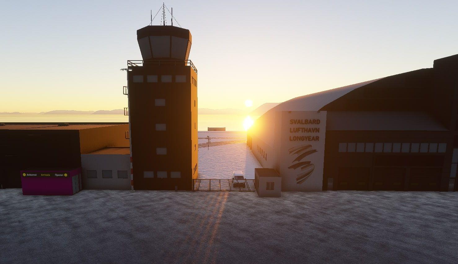 MSFS ENSB Svalbard