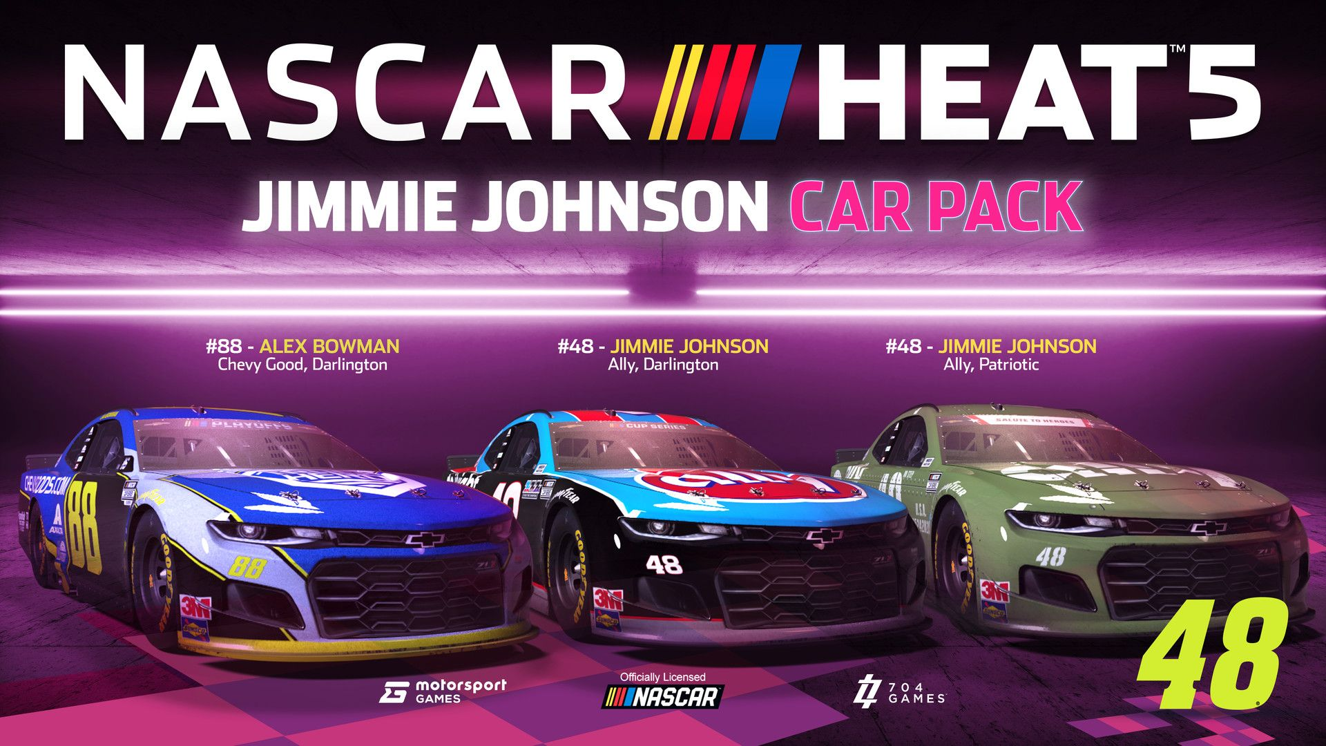 NASCAR Heat 5 - Jimmie Johnson Pack