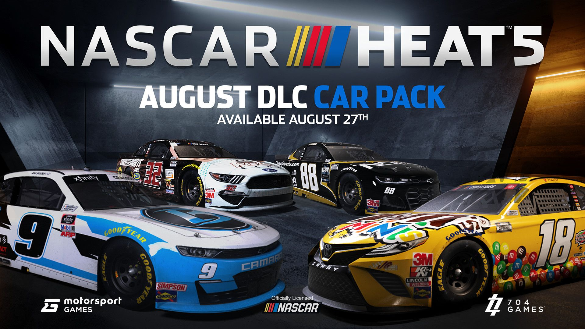 NASCAR Heat 5 - August DLC Pack