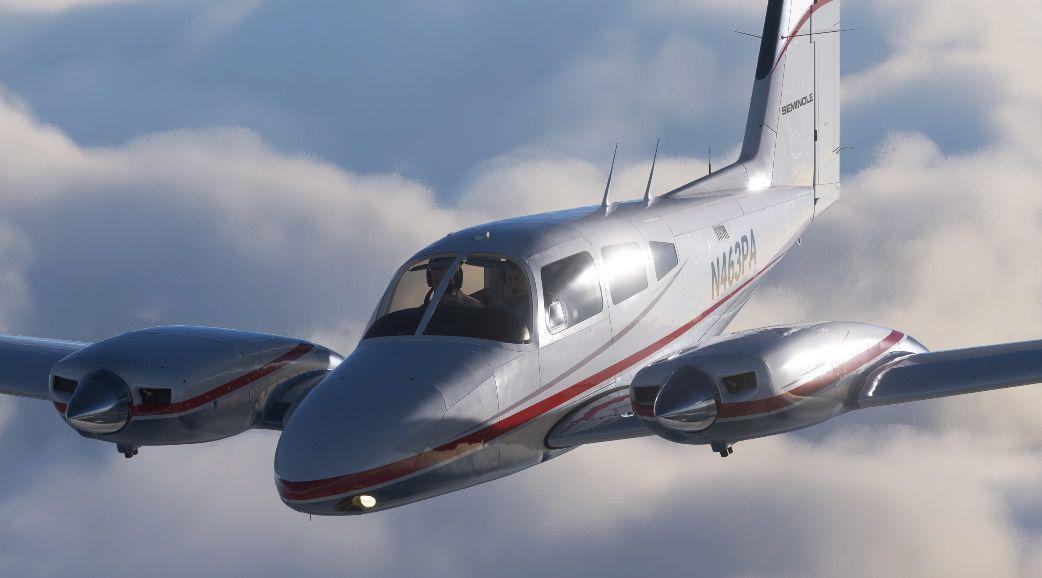 MSFS Piper PA-44 Seminole