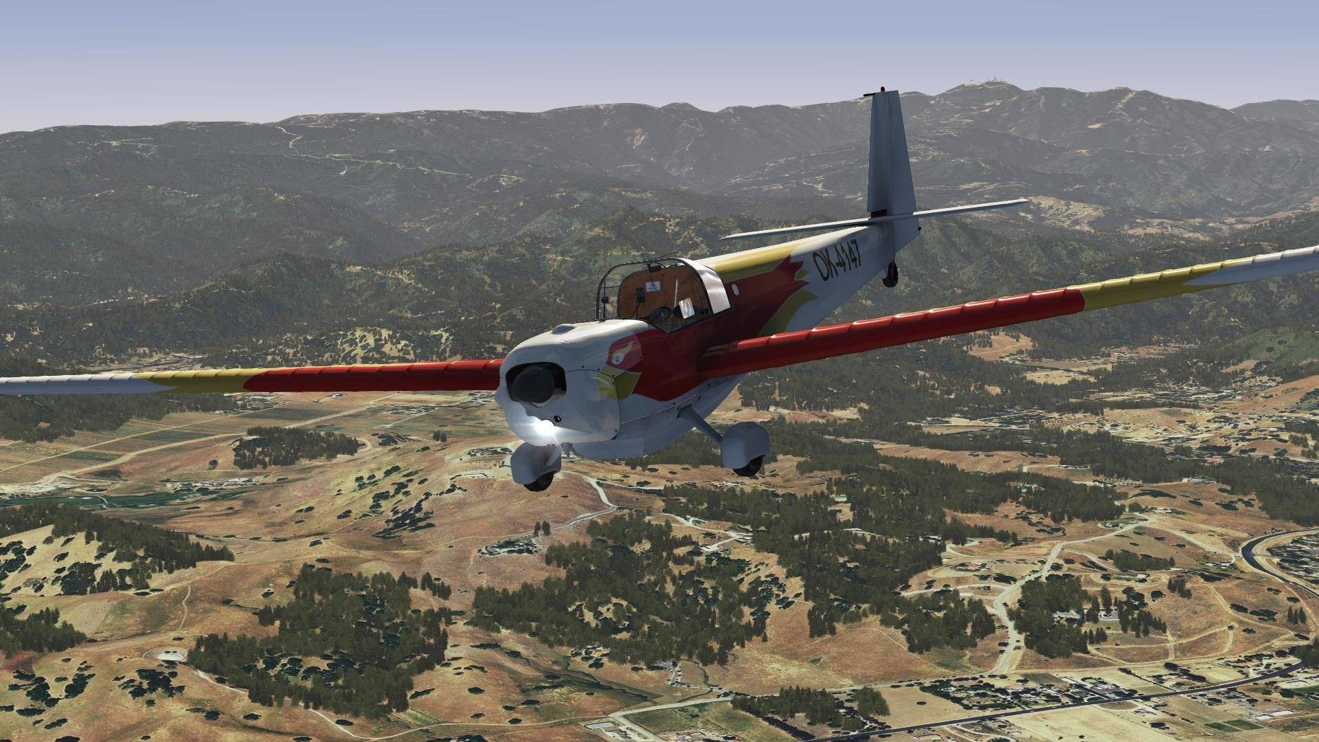 Aerofly FS 2 - Just Flight - Falke SF25