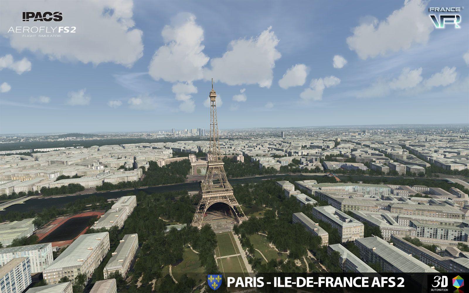 Aerofly FS 2 - France VFR - Paris-Ile-de-France