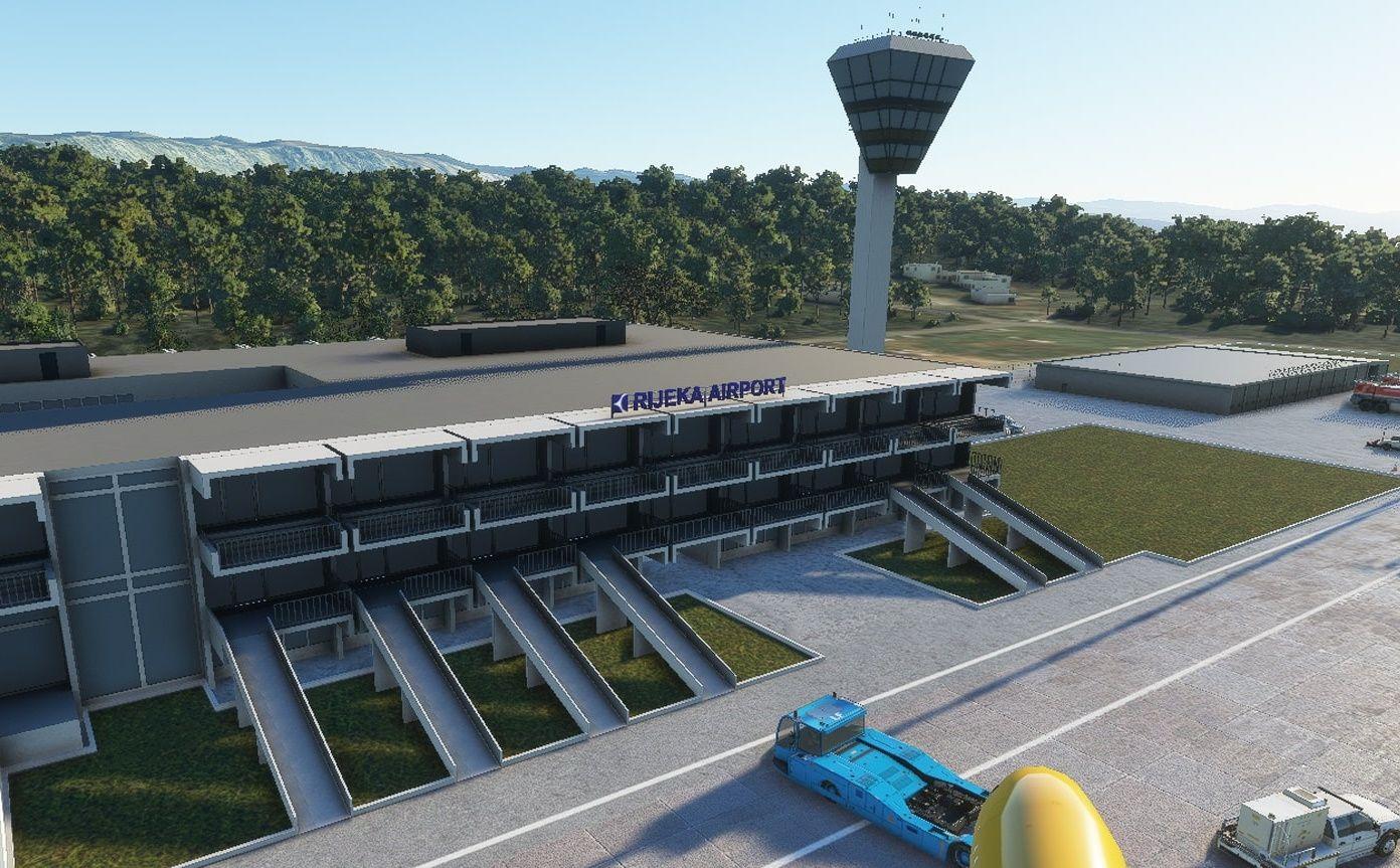 MSFS LDRI Rijeka Airport
