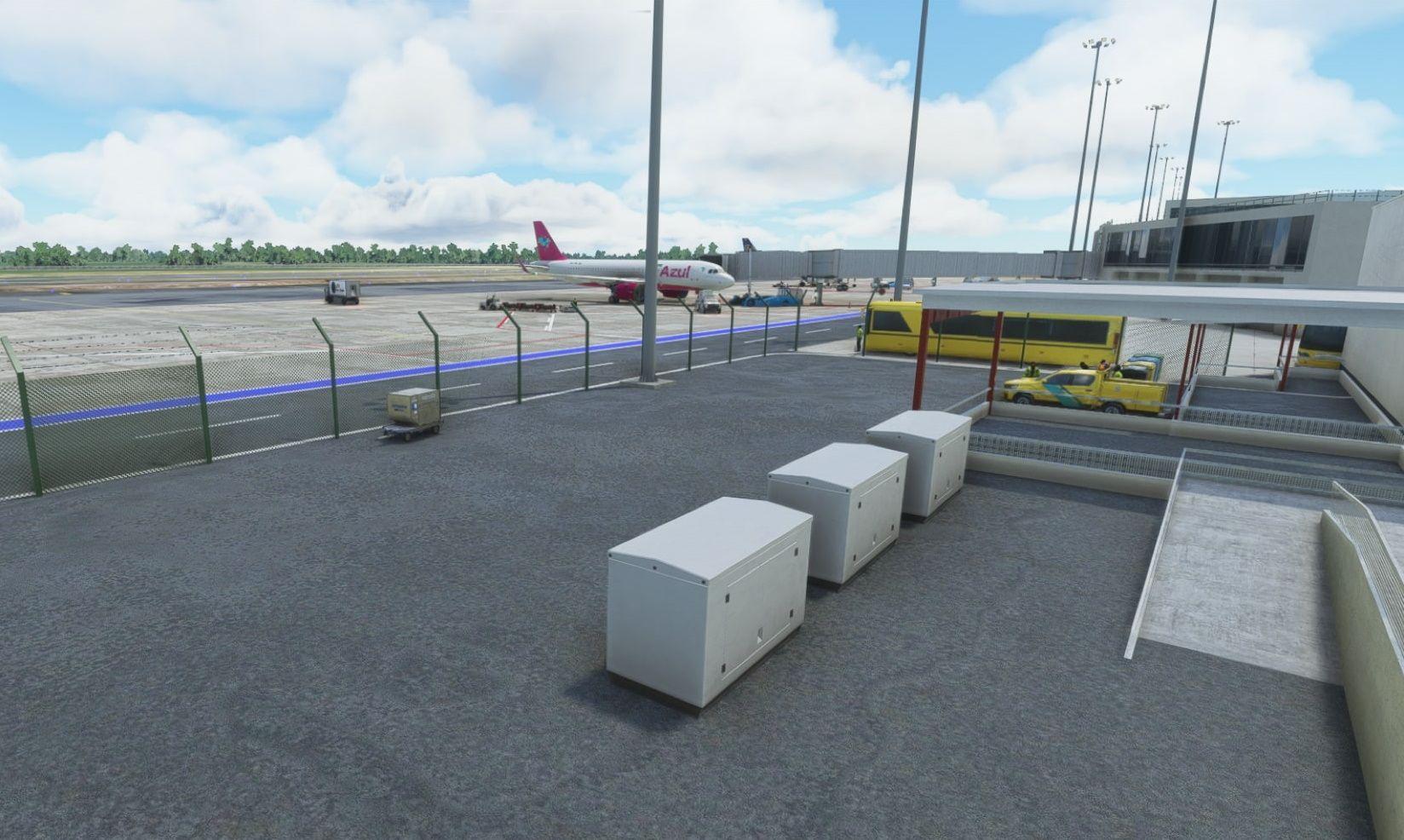 MSFS SBMO Zumbi dos Palmares International Airport