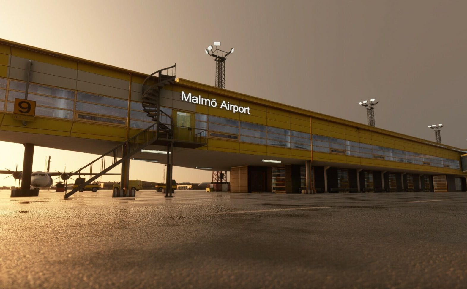 MSFS ESMS Malmo Airport