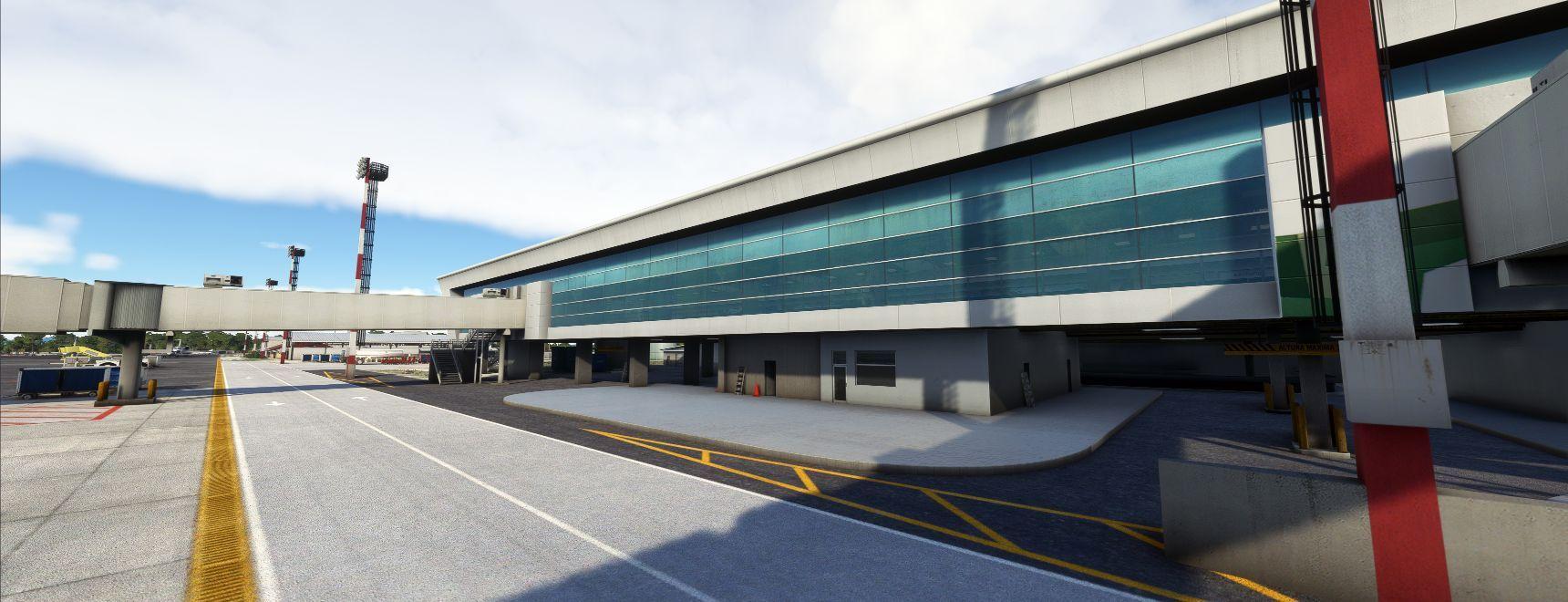 MSFS MRLB Liberia International Airport