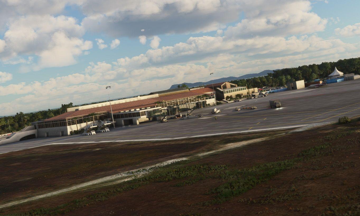 MSFS LFTH Toulon–Hyères Airport