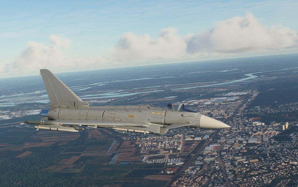 MSFS Eurofighter Typhoon