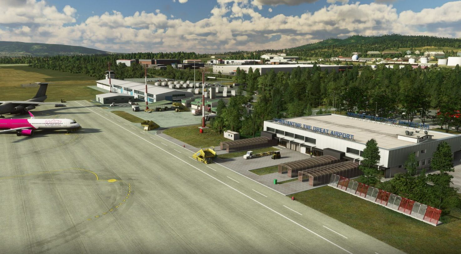 MSFS LYNI Niš Constantine the Great Airport
