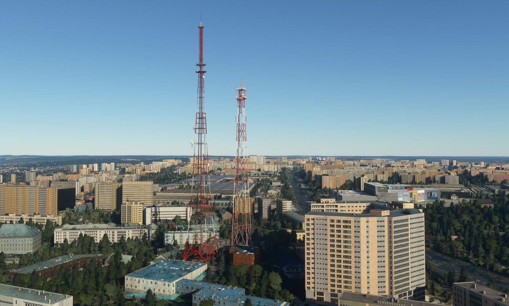 MSFS Samara Landmarks