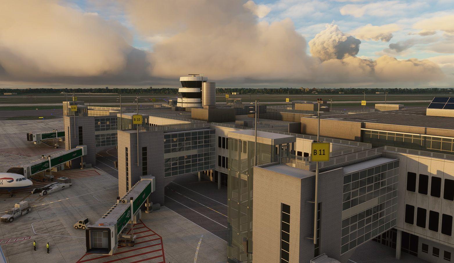 MSFS EDDL Düsseldorf Airport