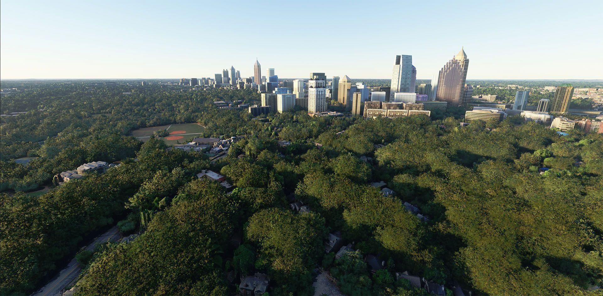 MSFS Atlanta Photogrammetry