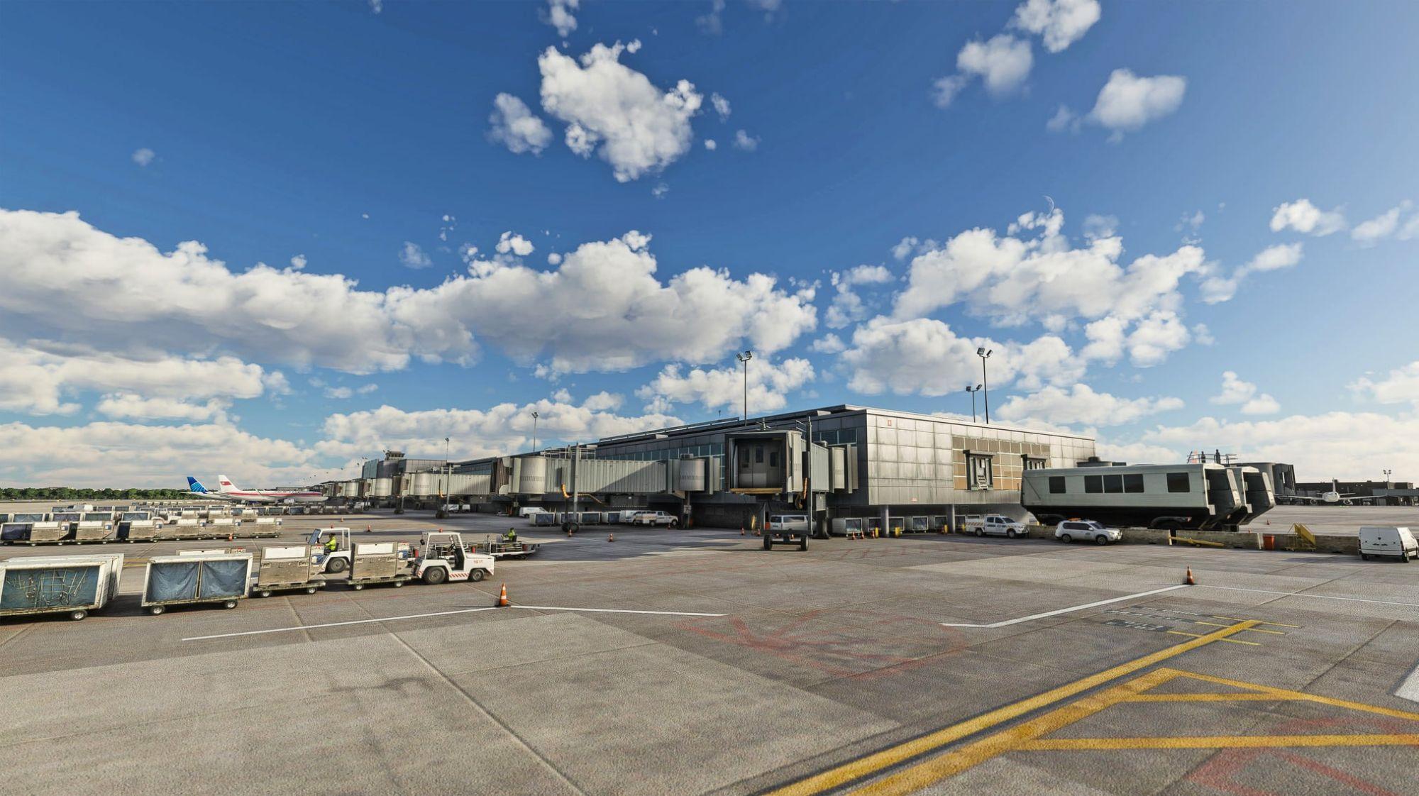 MSFS KIAD Washington Dulles International Airport