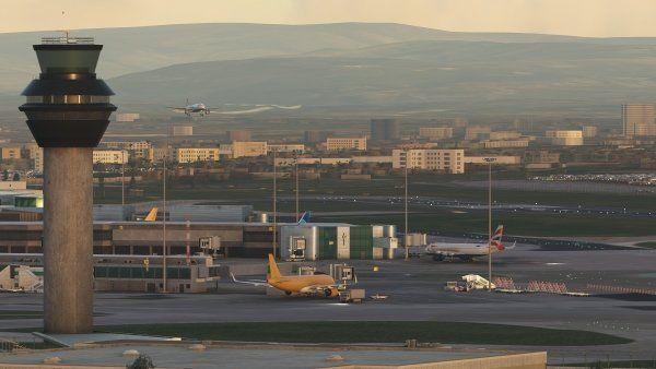 MSFS EGCC Manchester Airport