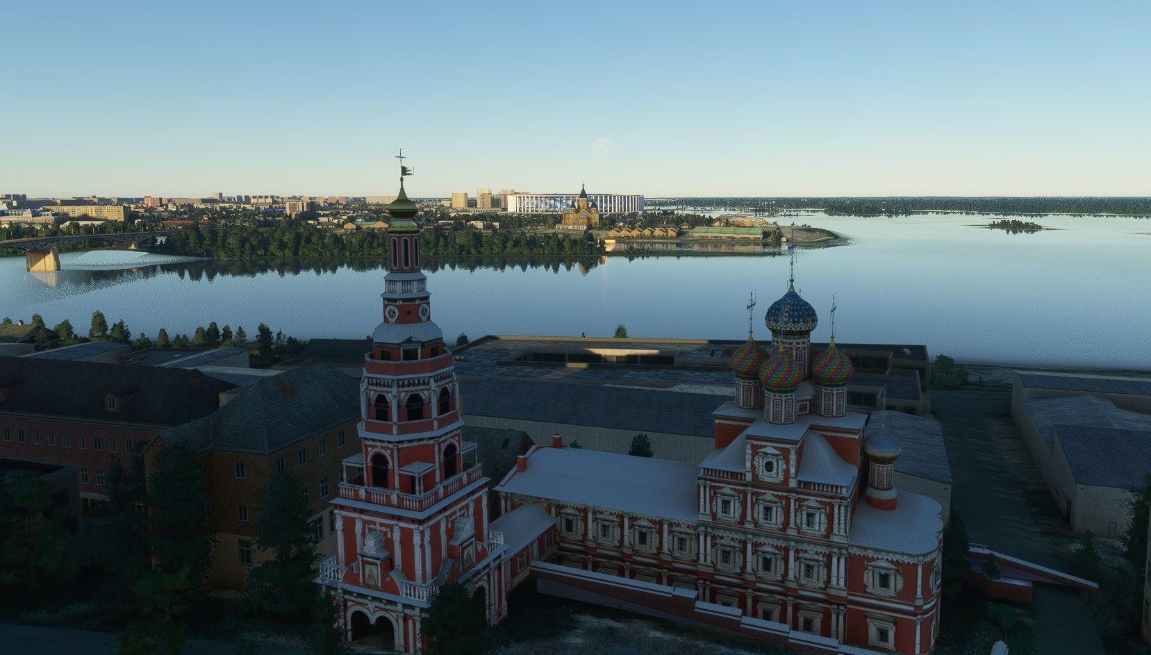 MSFS Nizhny Novgorod Landmarks