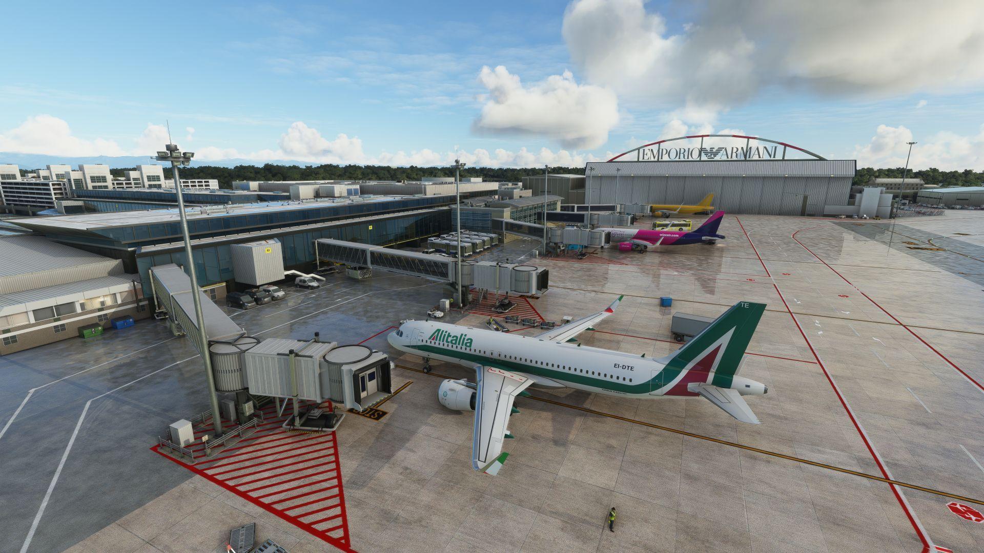 MSFS LIML Milan Linate Airport