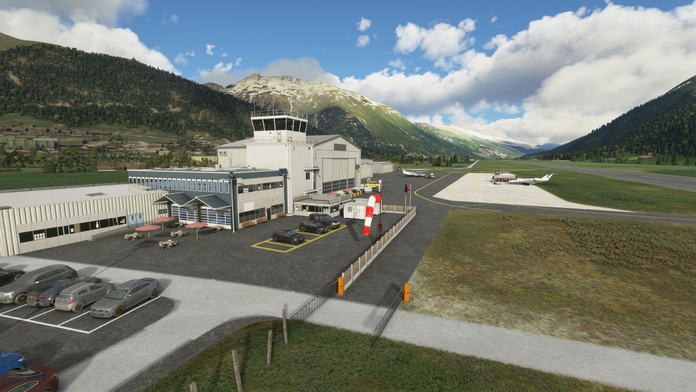 MSFS LSZS Samedan Airport