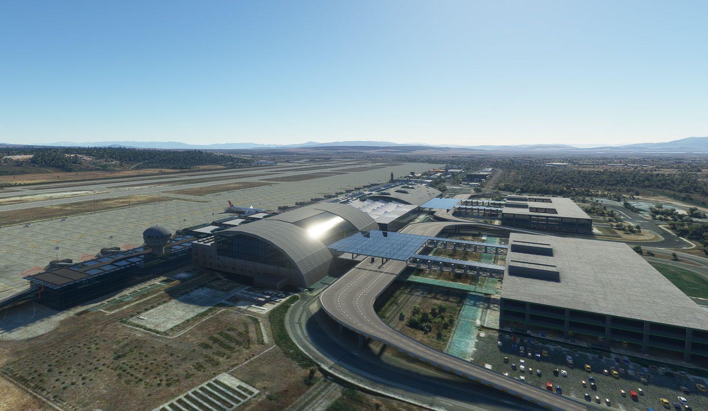 MSFS LTBJ Izmir Adnan Menderes Airport