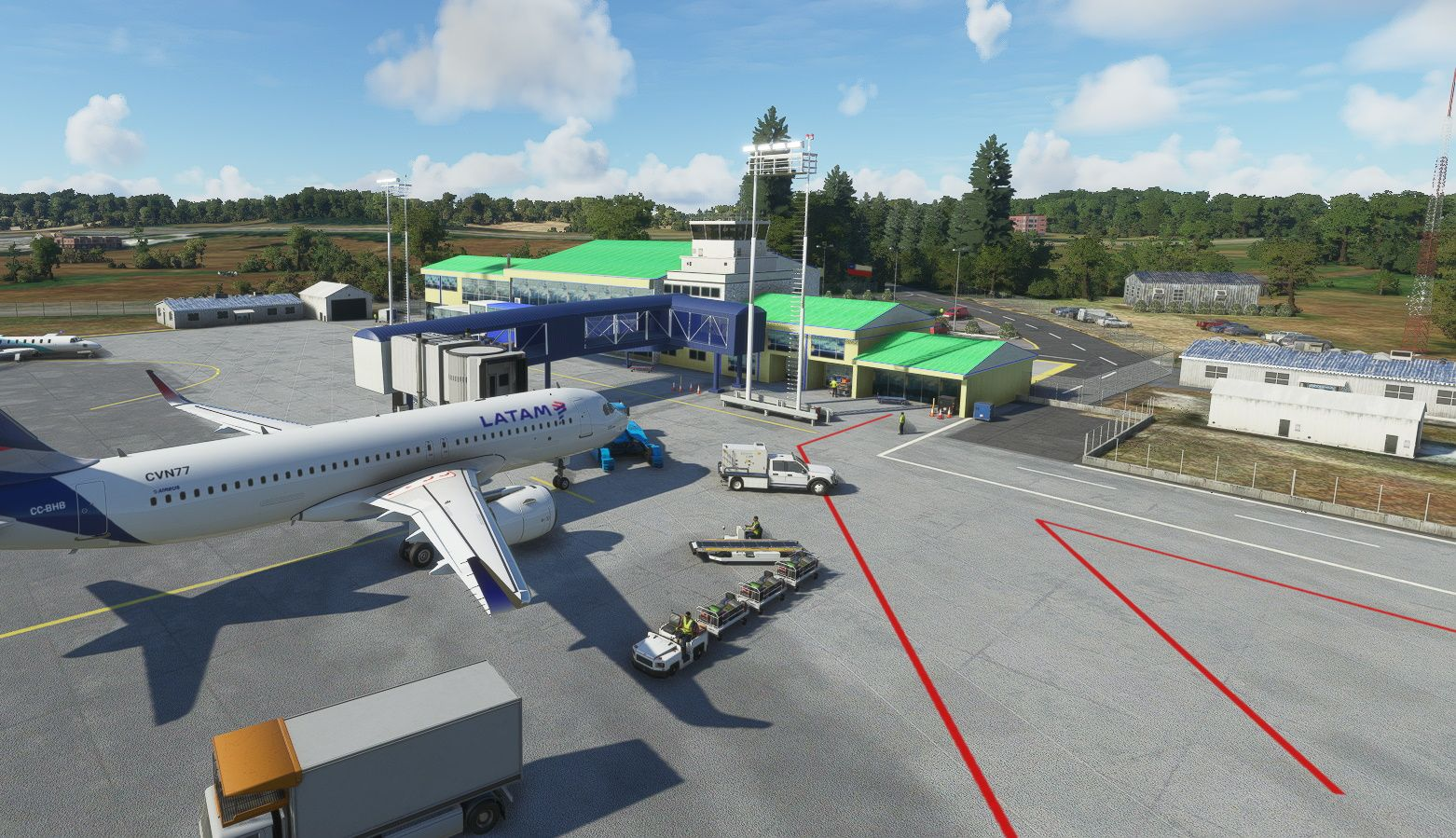 MSFS SCJO Cañal Bajo Carlos Hott Siebert Airport