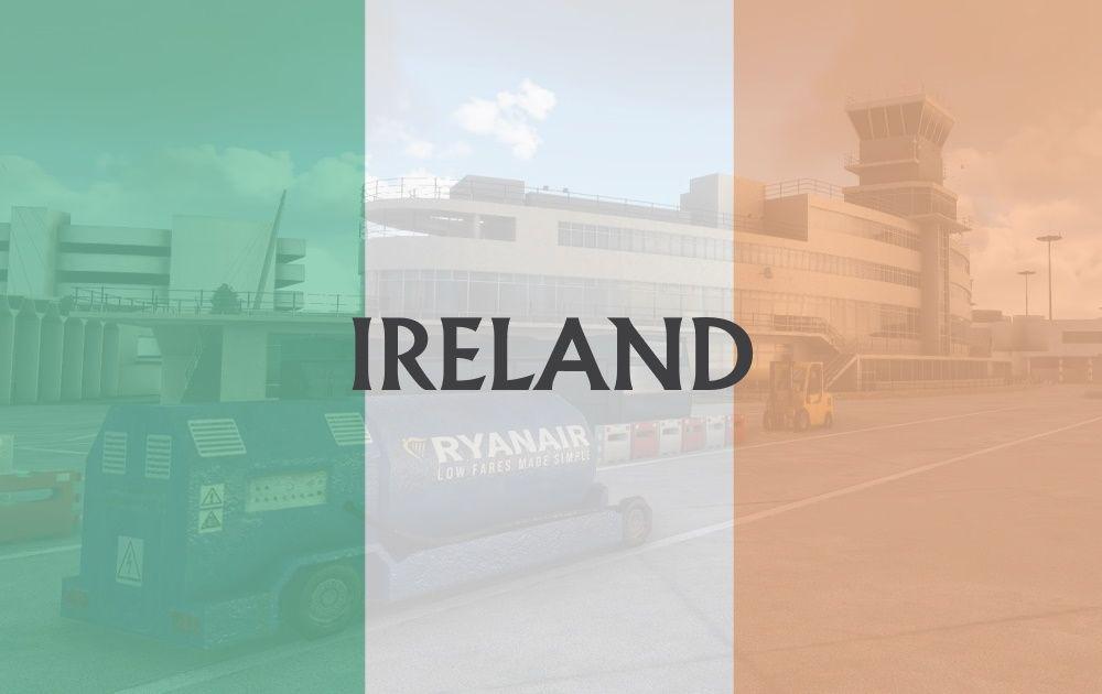 MSFS Ireland Airports
