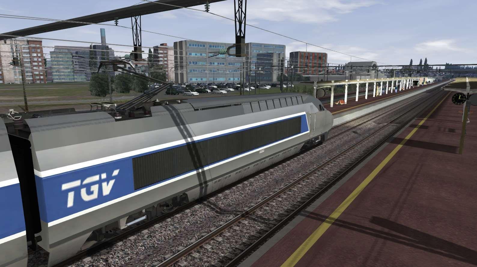 Train Simulator TGV Atlantique High Speed