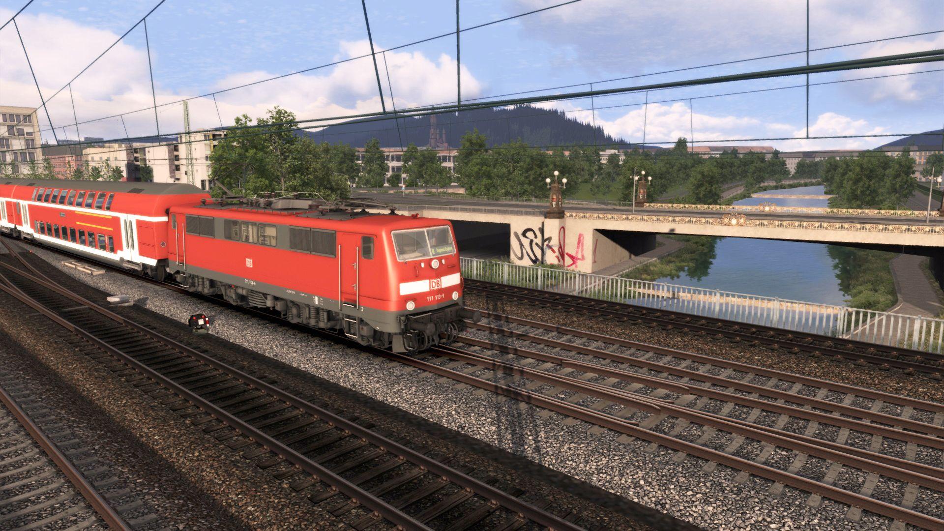 Train Simulator Rhine Valley: Freiburg - Basel
