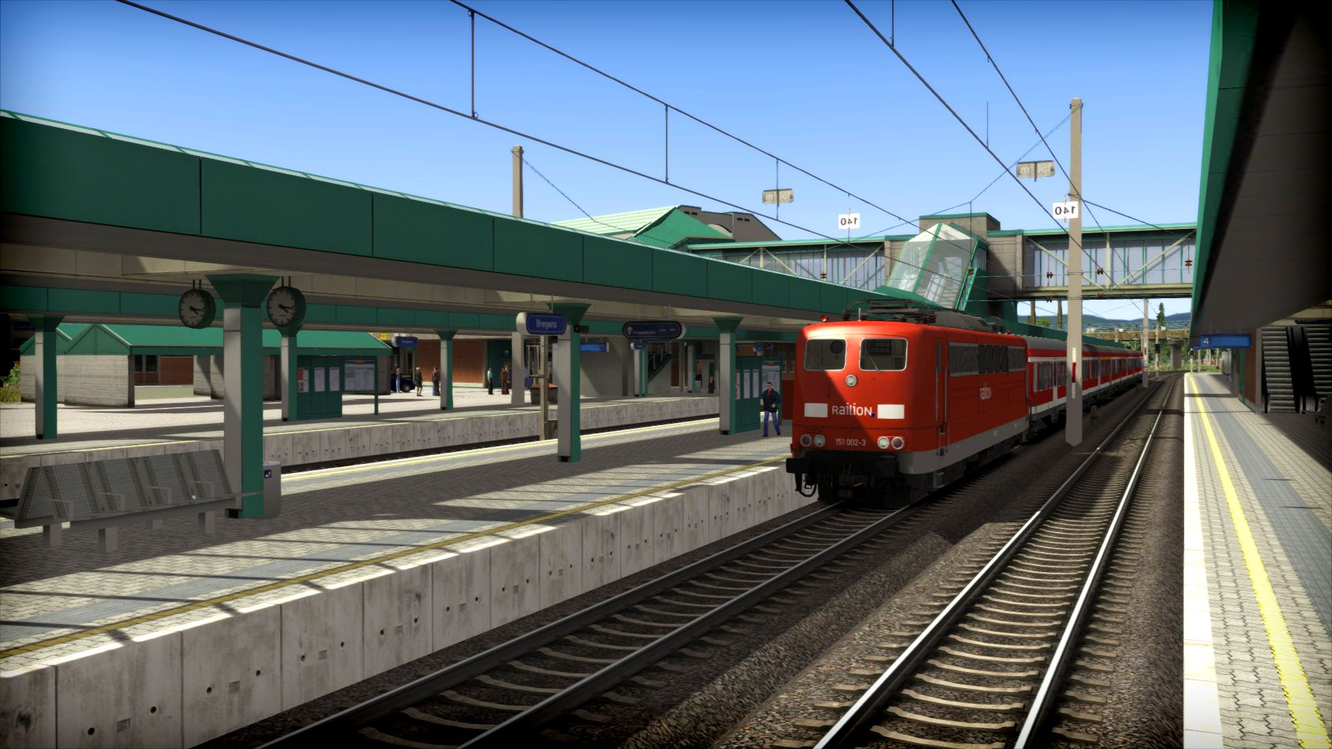 Train Simulator Three Country Corner