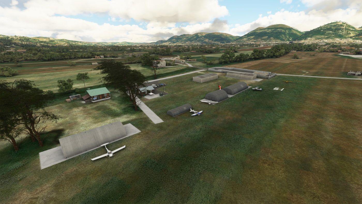 MSFS Aligubbio Airfield