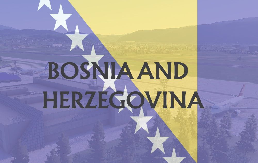 MSFS Bosnia and Herzegovina Airports