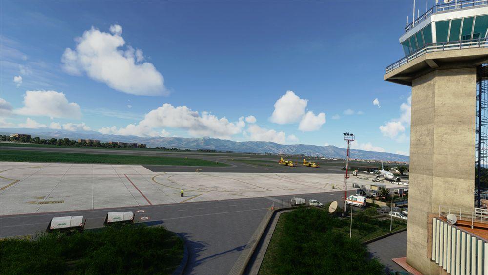 MSFS LICR Reggio Calabria Airport
