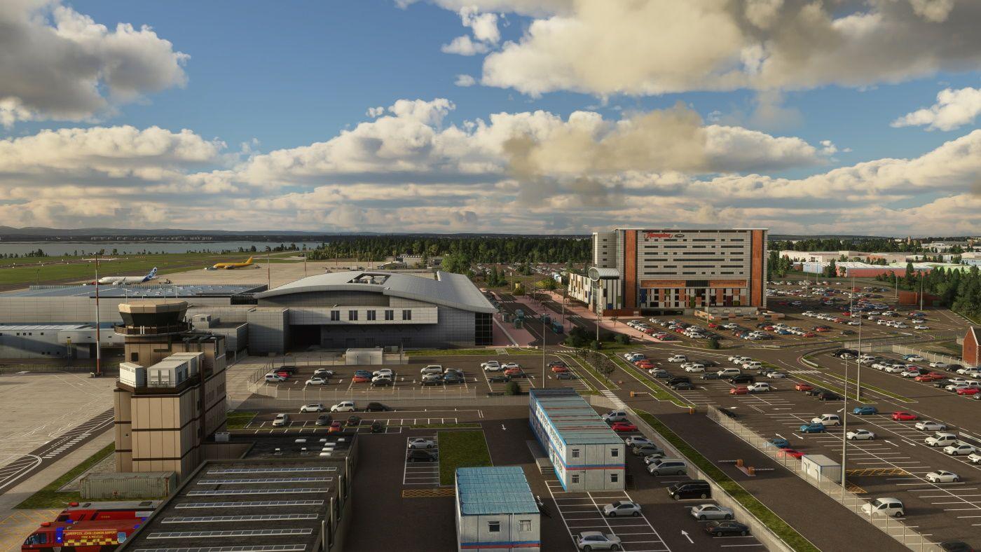 MSFS EGGP Liverpool John Lennon  Airport