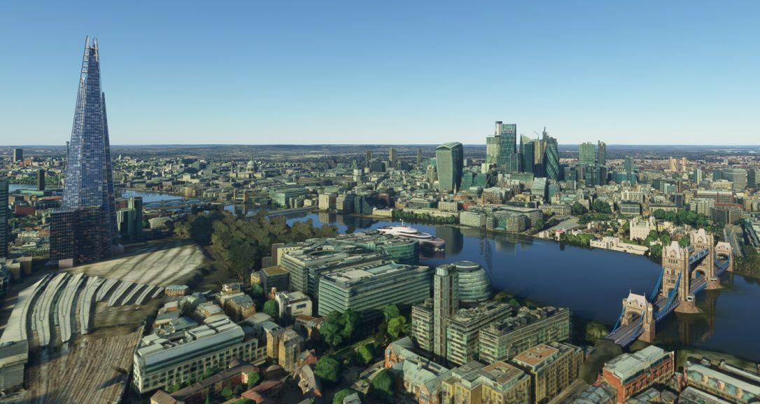 MSFS London Mega Map