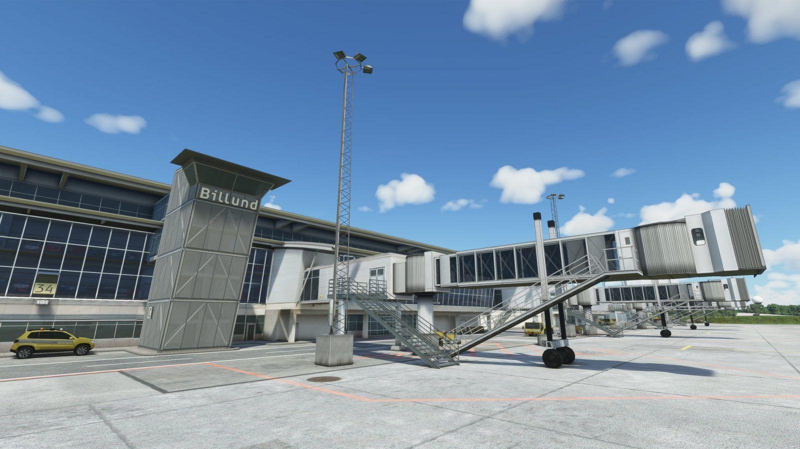 MSFS EKBI Billund Airport