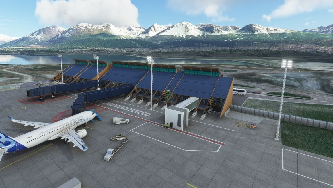 MSFS SAWH Malvinas Argentinas International Airport