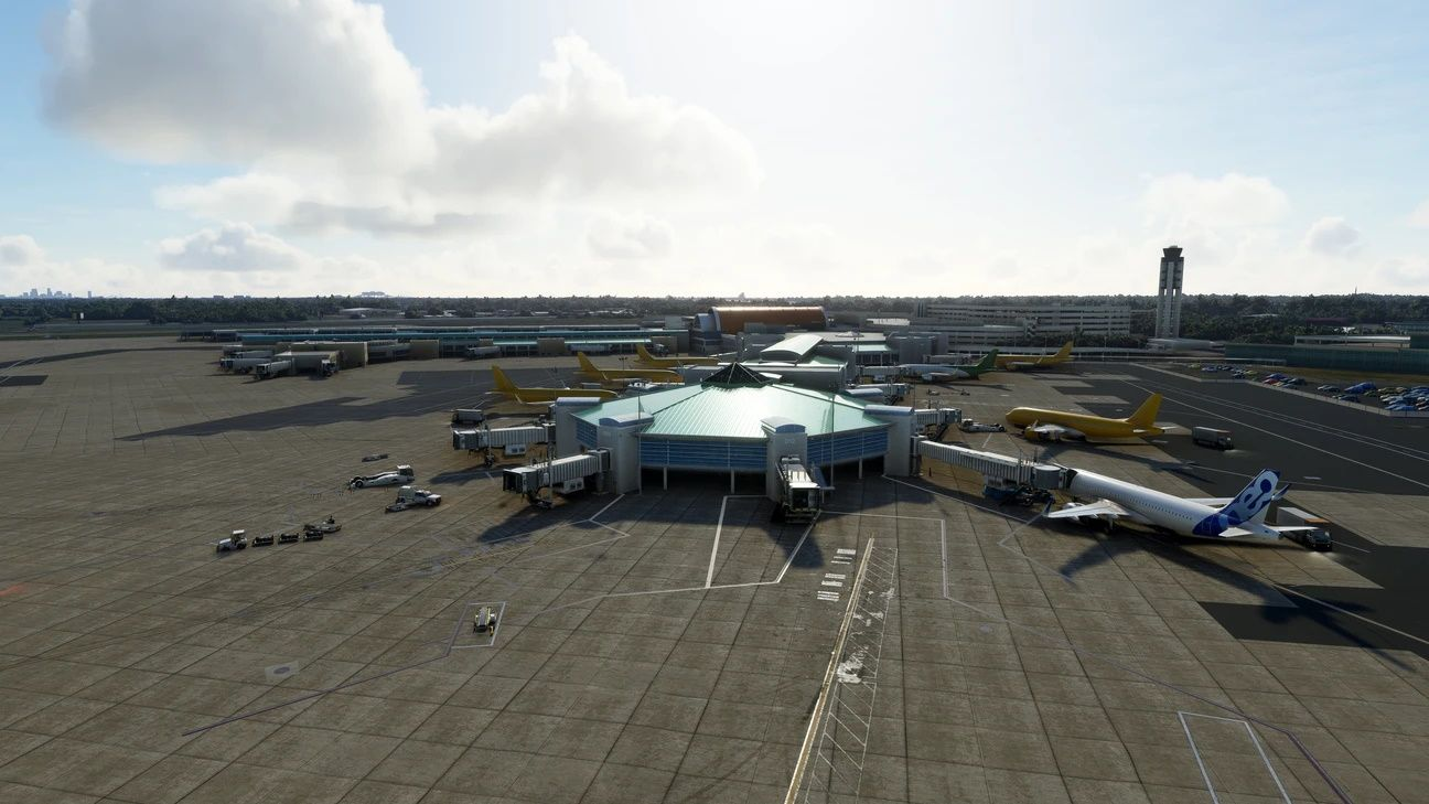 MSFS KMSY New Orleans International Airport