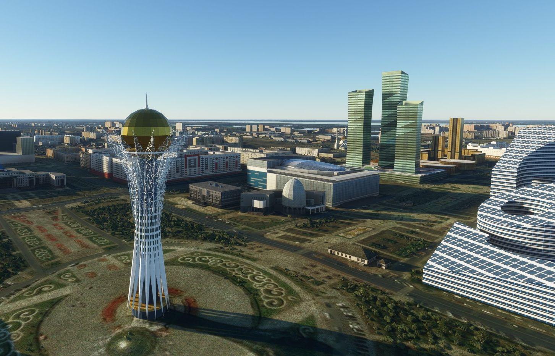 MSFS Nur-Sultan Landmarks