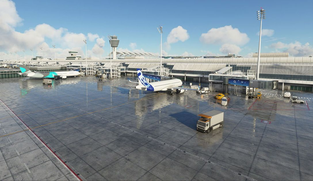 MSFS EDDM Munich Airport