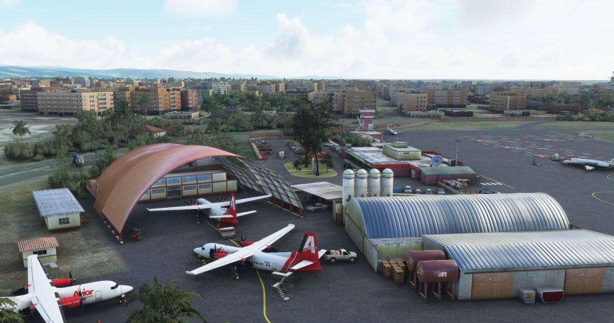 MSFS SVBI Barinas Airport