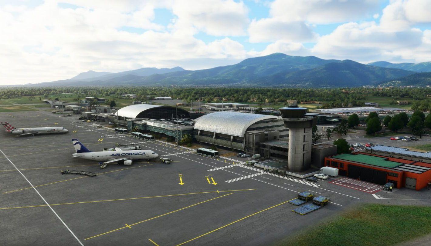 MSFS LFKB Bastia-Poretta Airport