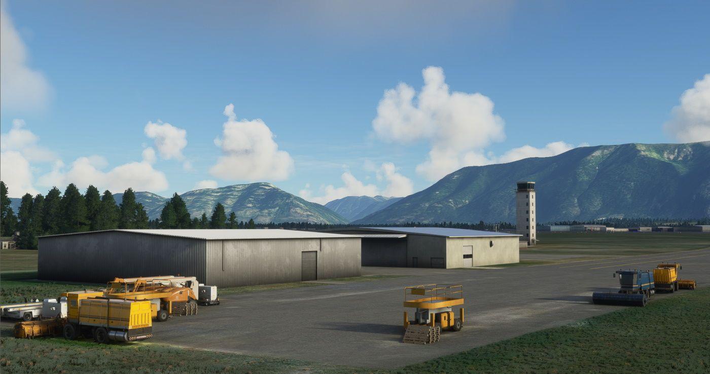 MSFS KGPI Glacier Park International Airport
