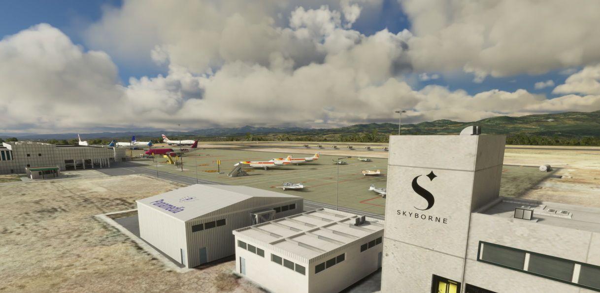 MSFS LECH Castellón-Costa Azahar Airport