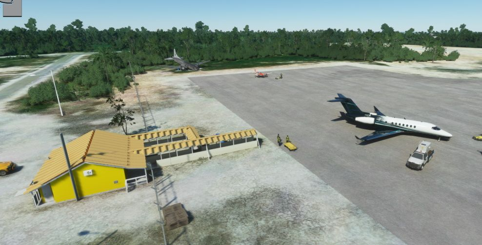 MSFS MYAP Spring Point Airport