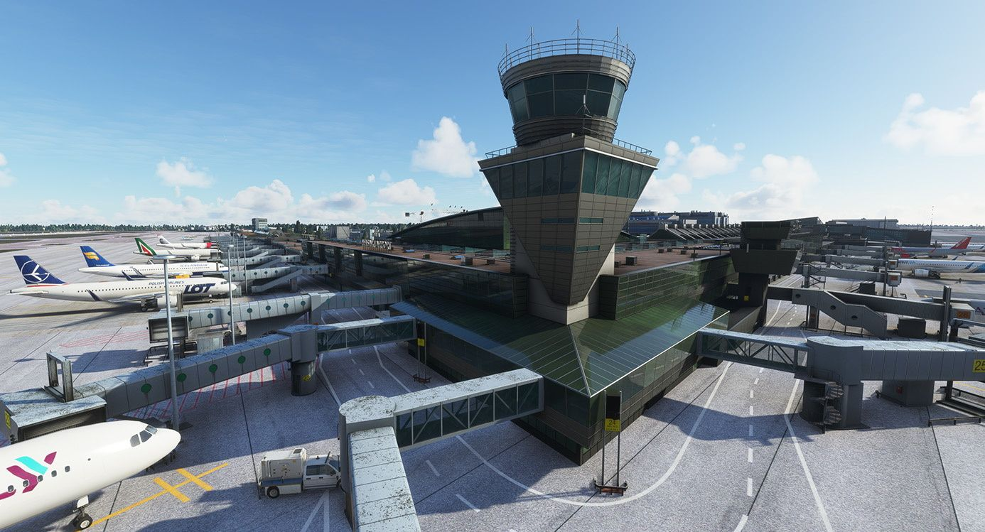 MSFS EFHK Helsinki-Vantaa Airport