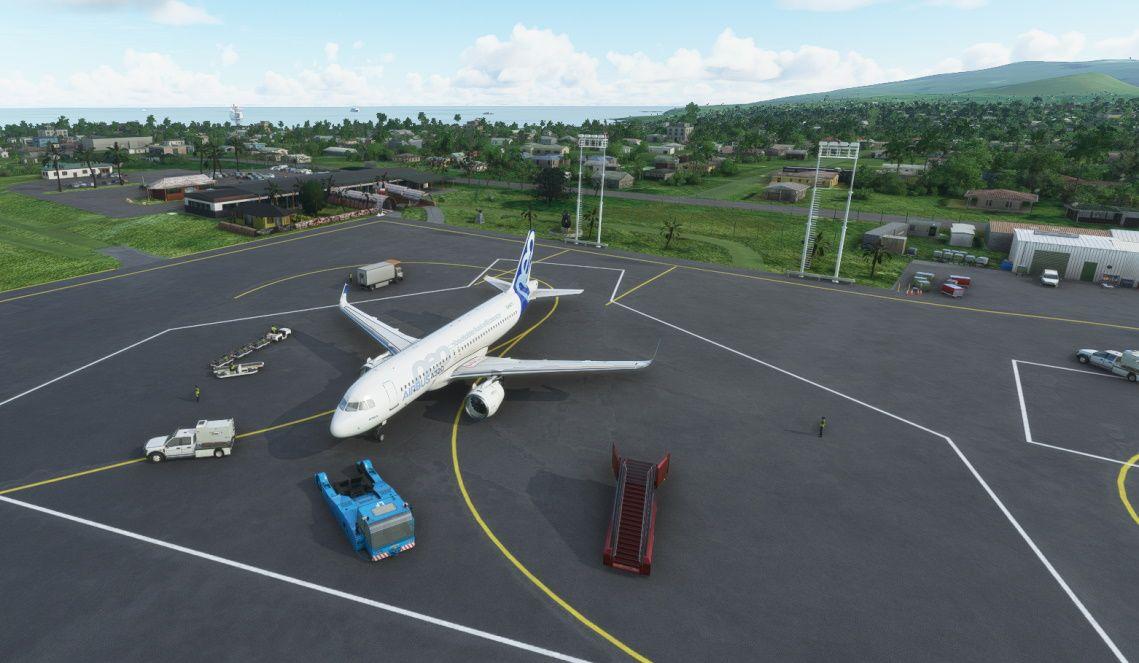 MSFS SCIP Mataveri International Airport
