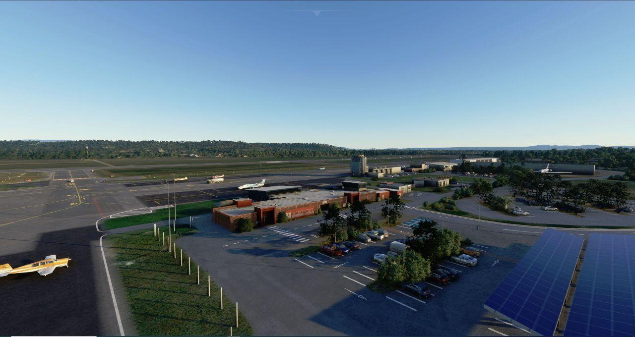 MSFS LFMV Avignon Provence Airport