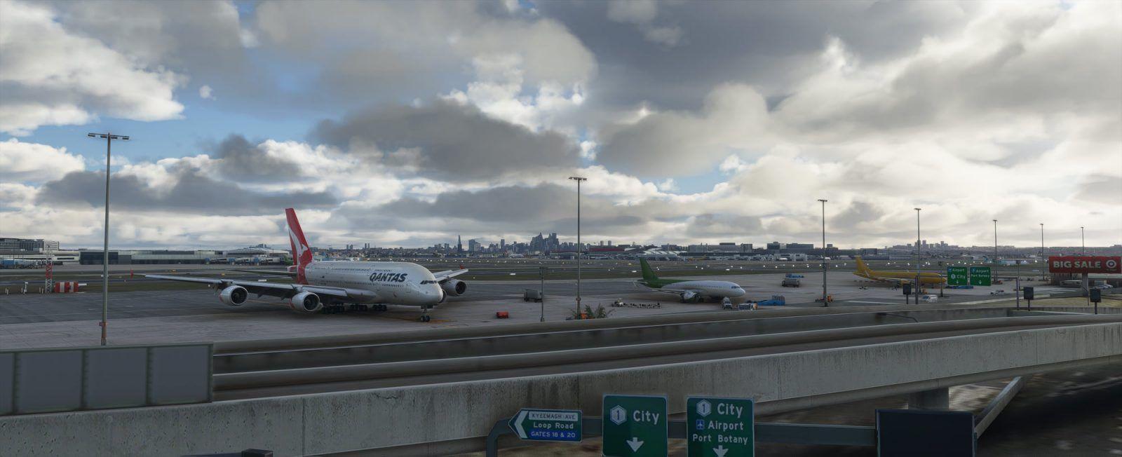 MSFS YSSY Sydney International Airport
