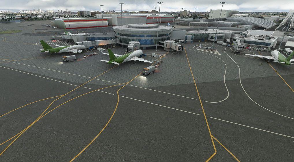 MSFS Zinertek Enhanced  Airport Graphics