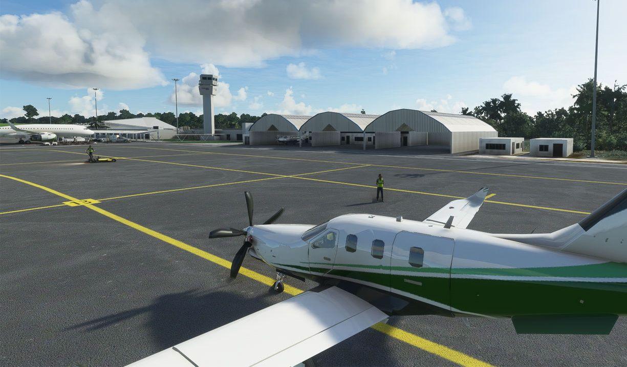 MSFS MMCZ Cozumel International Airport